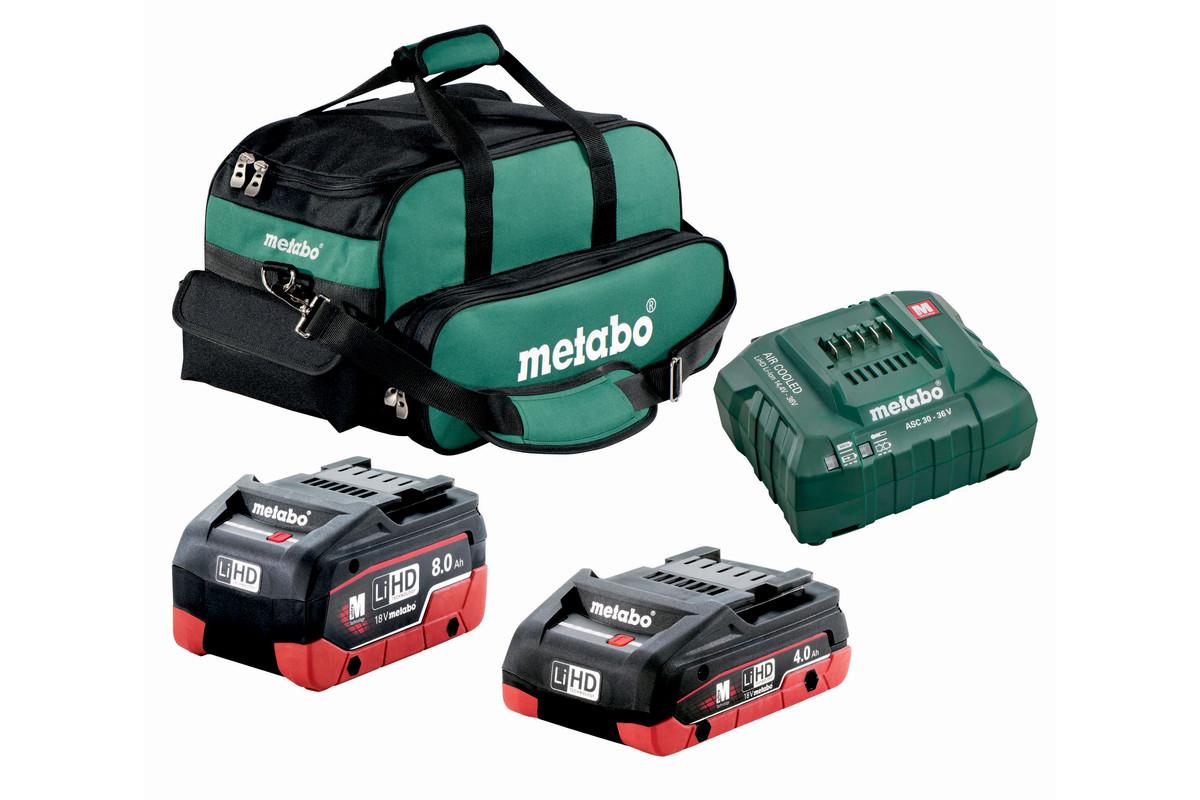 4.0Ah Ultra M LiHD Compact Battery + 8.0Ah Ultra-M LiHD Professional Battery (US625369011)