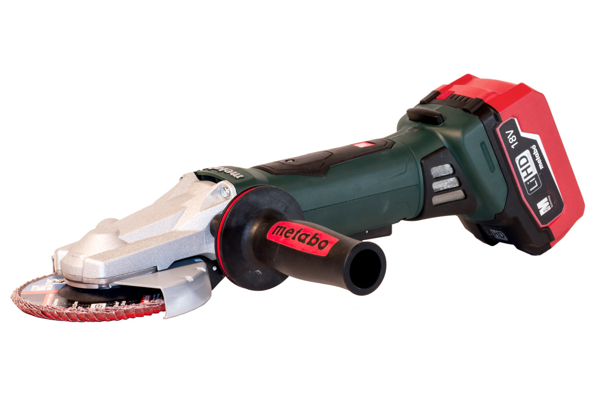 WPF 18 LTX 125 (US613070620) Cordless Flat Head Angle Grinder