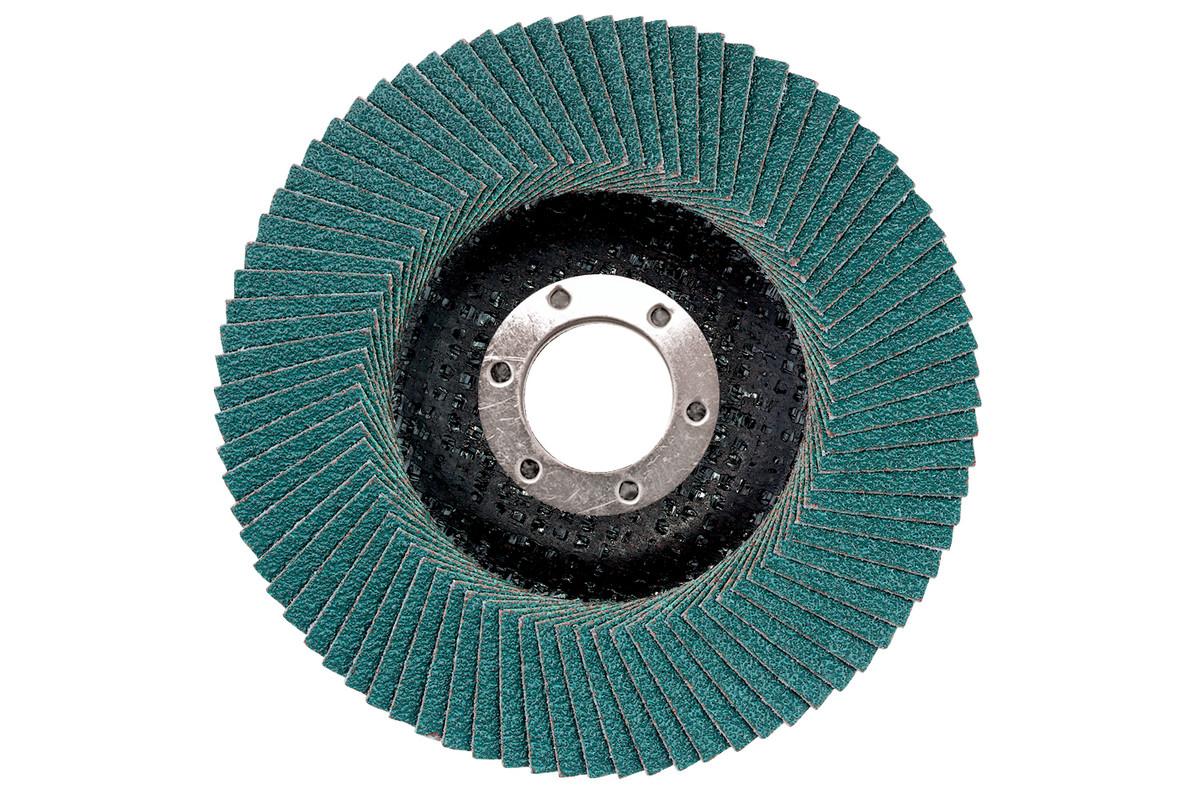 """Novoflex Flap Discs 4-1/2"""" x 5/8""""-11, Type 29, Grit: 40 (656452000)"""