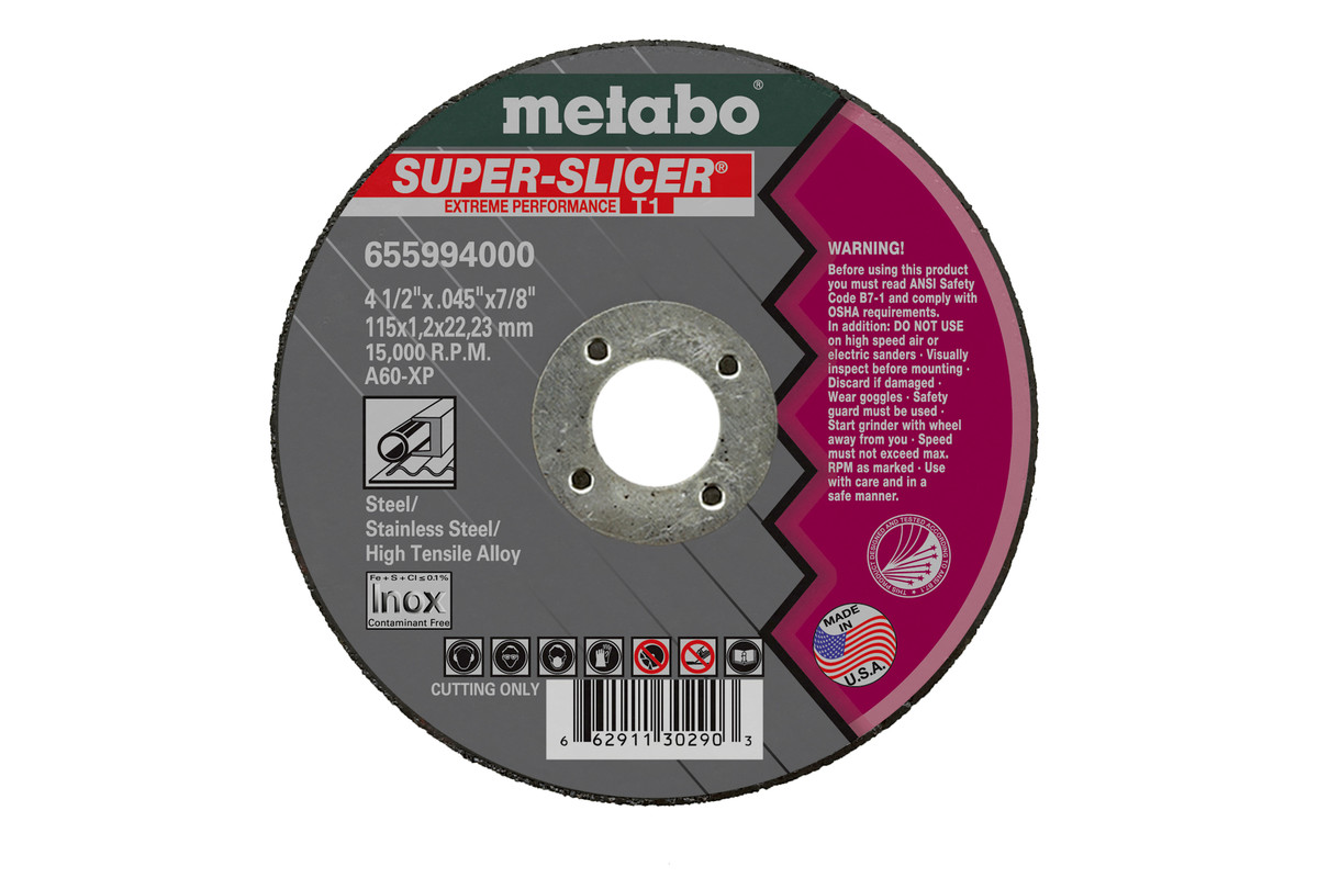 "Super Slicer 5"" x .045"" x 7/8"", Type 1, A60XP (655992000)"