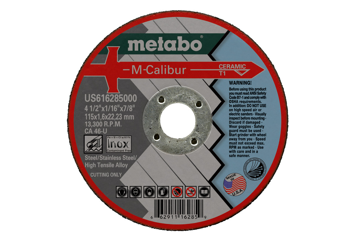 "M-Calibur 4-1/2"" x 1/16"" x 7/8"", Type 1, CA46U  (US616285000)"