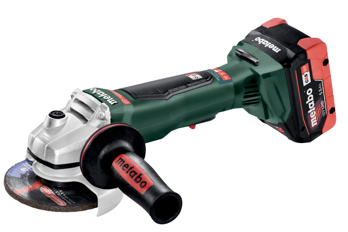 "WPB 18 LTX BL 115 (613074620) 4 1/2"" Cordless Angle Grinder"