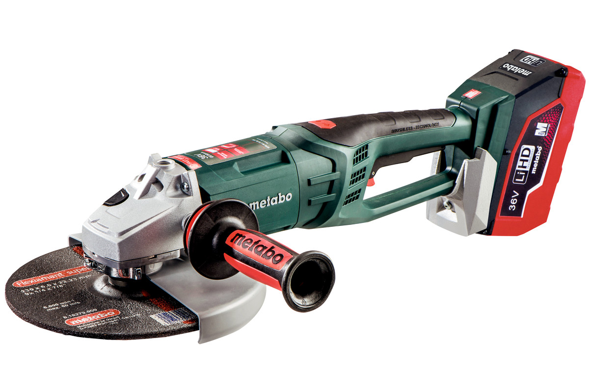 "WPB 36 LTX BL 230 (613101640) 9"" Cordless Angle Grinder"
