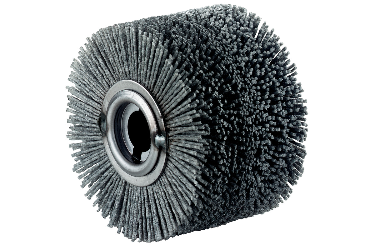 "Plastic wheel brush, 4 x 2 3/4"" (623505000)"