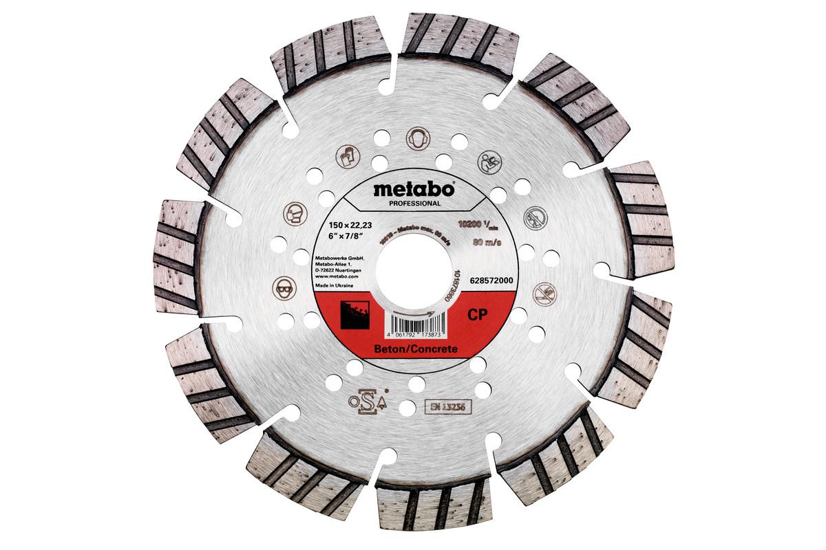 "Diamond Cutting Disc 150x22.23mm, ""CP"", concrete ""professional"" (628572000)"