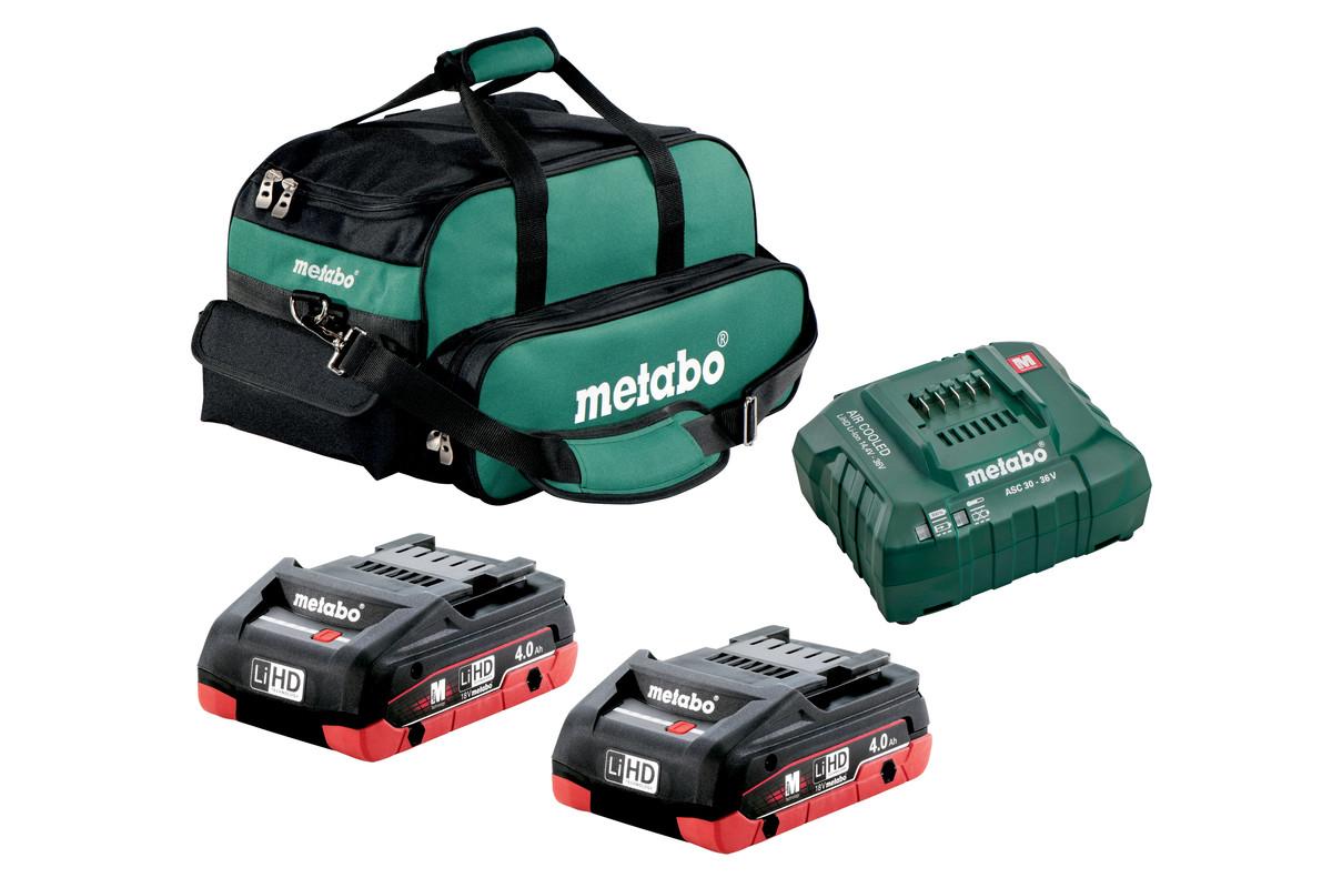 2x 4.0Ah LiHD Ultra-M Compact Kit (US625367002)
