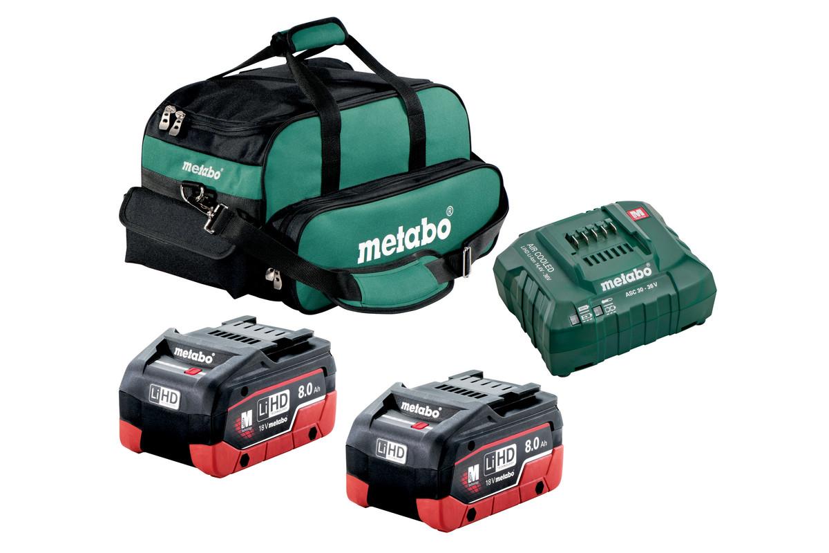2x 8.0Ah Ultra-M Professional Kit (US625369002)
