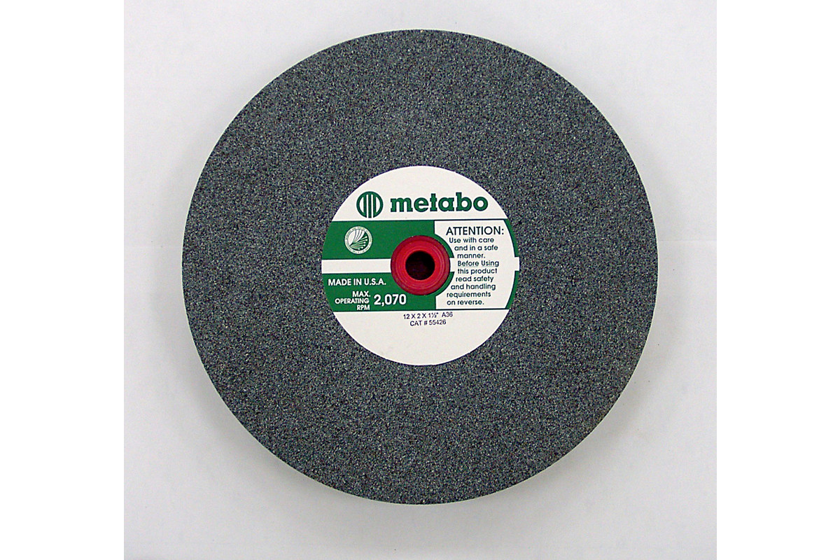 "Vitrified Wheel 6"" x 1"" x 1"", Type 1, A80  (655408000)"