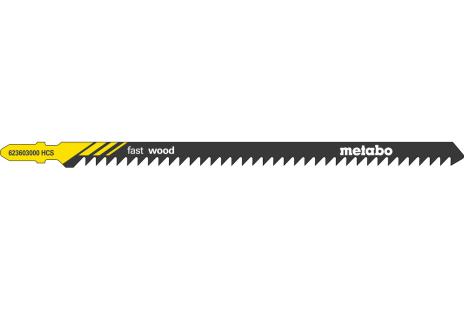 5 Jigsaw blades, wood, professional 150/4.0 mm (623603000)