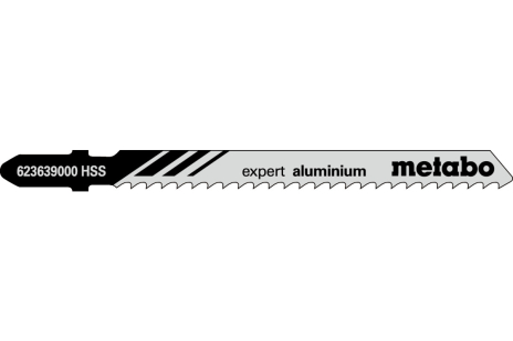 5 Jigsaw blades, Al+NFM, expert, 74/ 3.0mm (623639000)