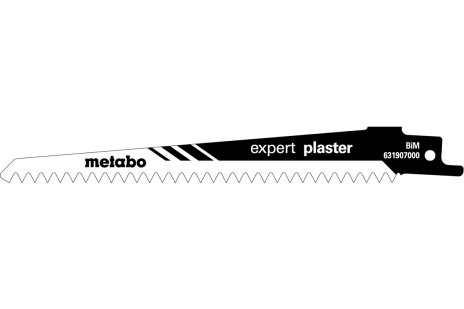 5 Reciprocating saw blades, plasterboard expert, 150 x 1.25 mm (631907000)