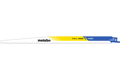 5 Reciprocating saw blades, wood, flexible, 300 x 1.25 mm (631987000)