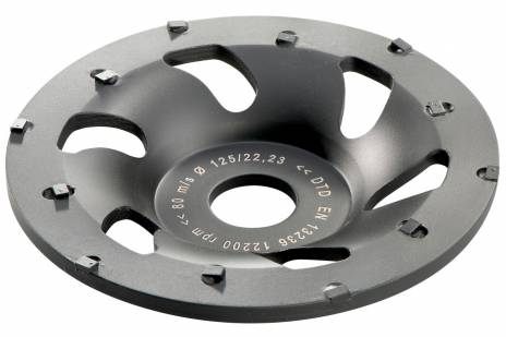 "PCD ""professional"" Diamond cup grinding wheel Ø 125 mm (628208000)"