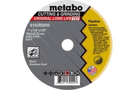 "LongLife Original Grinding/Notching/Cutting 6"" x 1/8"" x 7/8"" , Type 27, A24T (655285000)"