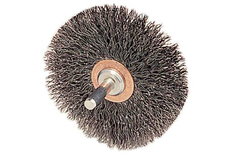 """Crimped Wheel  3"""" x 1"""" x 1/4"""", Stainless (655222000)"""