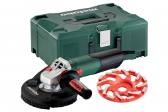 "WE 15-125 HD Set GED (600465620) 5"" Angle grinder"