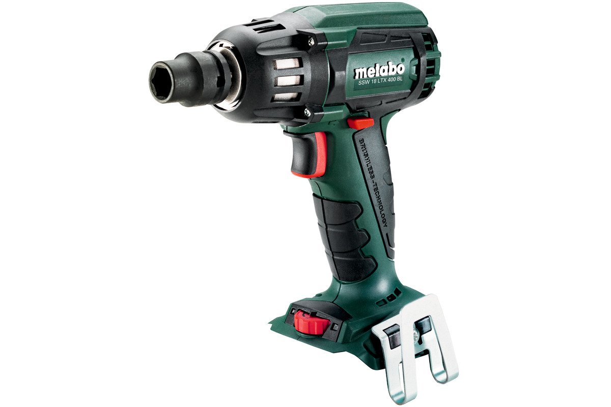 ssw 18 ltx 400 bl 602205890 cordless impact wrench metabo power tools. Black Bedroom Furniture Sets. Home Design Ideas