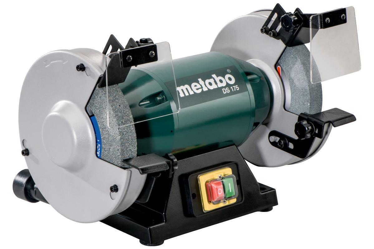 Ds 175 619175420 bench grinder metabo power tools for Table grinder