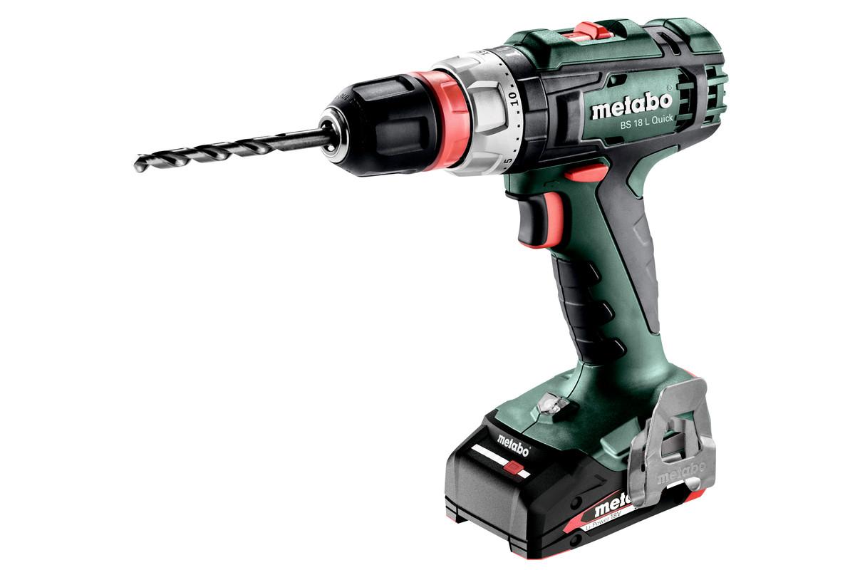 Bs 18 L Quick 602320520 Cordless Drill Screwdriver