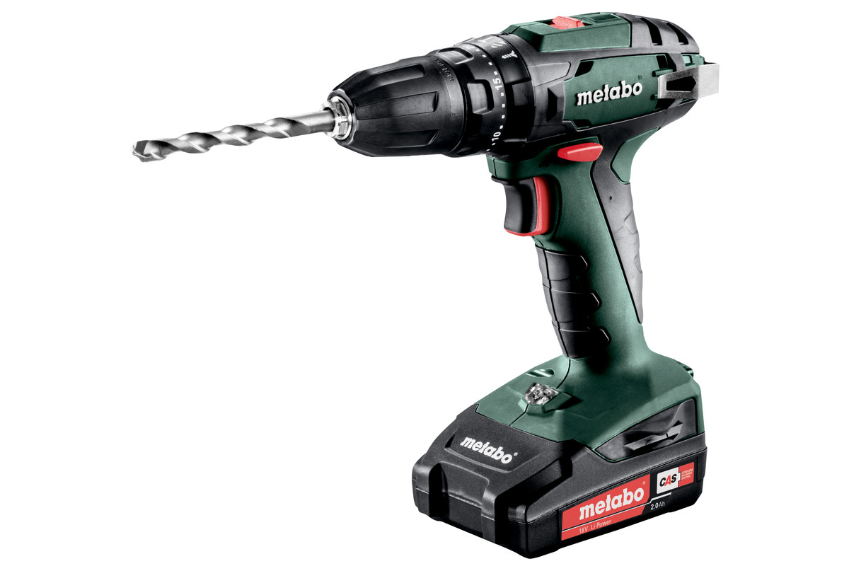 sb 18 602245520 cordless hammer drill metabo power tools. Black Bedroom Furniture Sets. Home Design Ideas