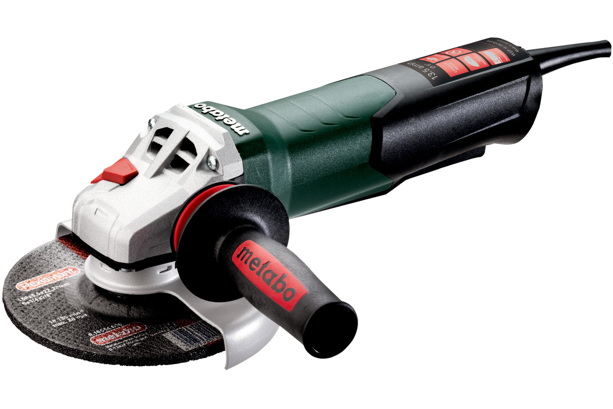 Metabo Power Tools For Professional Users Chicago 7 Polisher Wire Diagram Wep 15 150 Quick 600488420 6 Angle Grinder