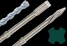 SDS-plus drill/chisel bits