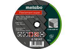 Flexiamant super 230x3.0x22.23 stone, TF 41 (616147000)
