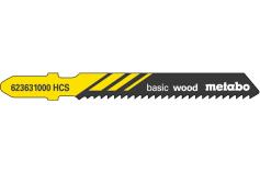 5 Jigsaw blades, wood, classic, 51/ 2.0 mm (623631000)