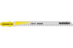 5 Jigsaw blades, wood, profess. 91mm / 3.0 (623654000)